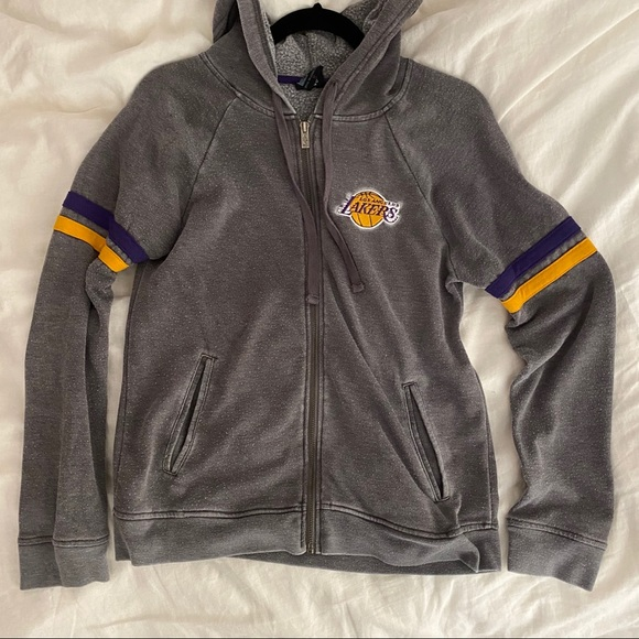 Nba Tops Lakers Zip Up Hoodie Poshmark
